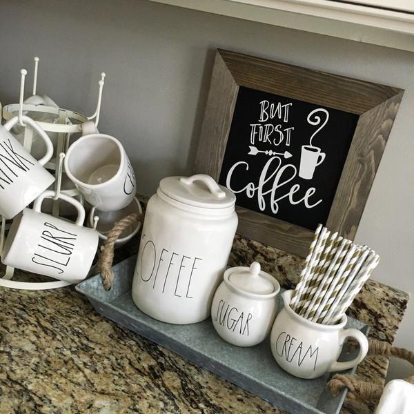 but first coffee chalkboard sign farmhouse kitchen pinterest rh pinterest com