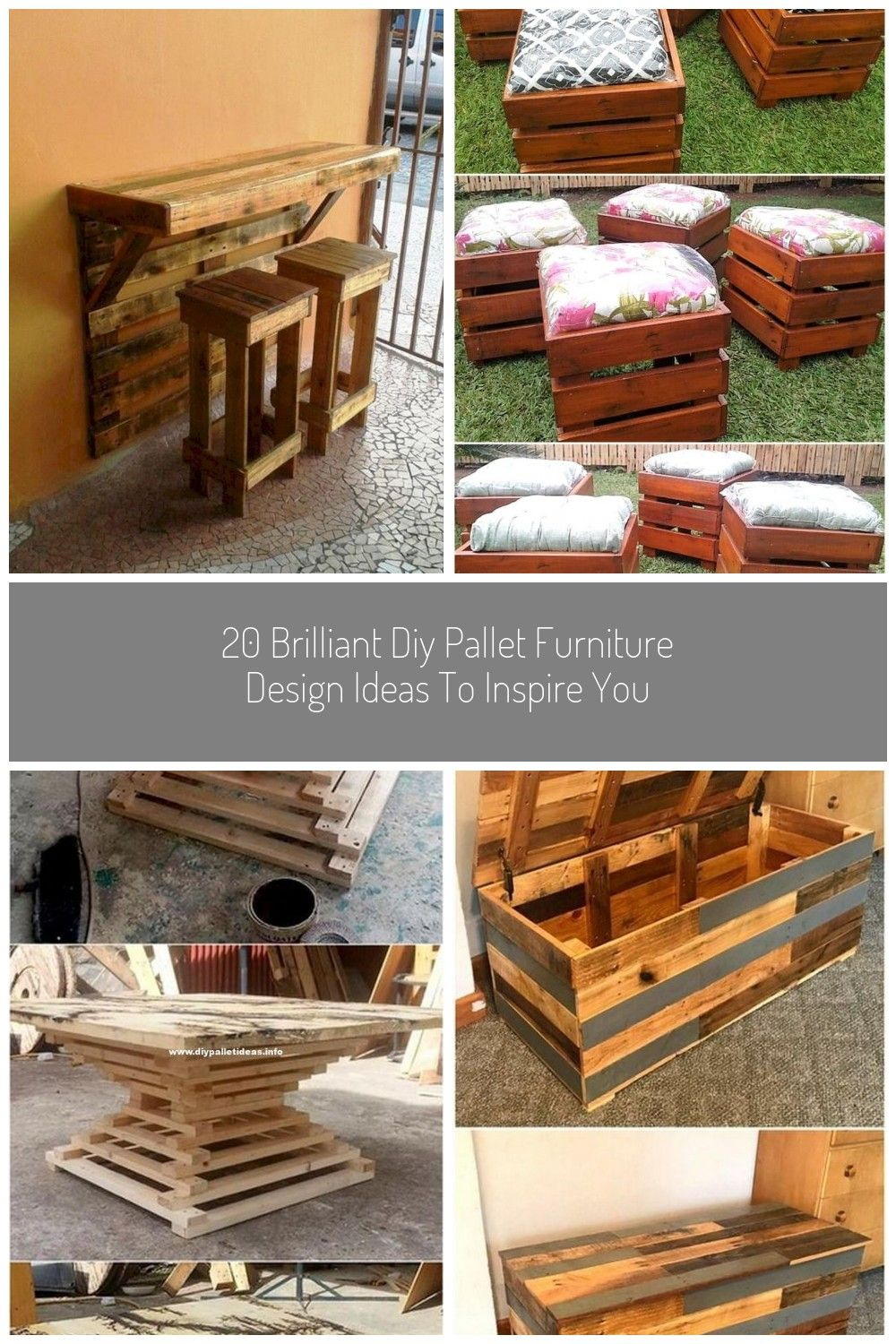 20 brilliant diy pallet furniture design ideas to inspire