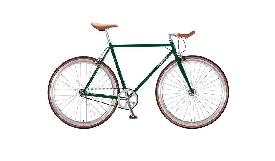 monoqi single speed fahrrad gr n dream fixed gear. Black Bedroom Furniture Sets. Home Design Ideas