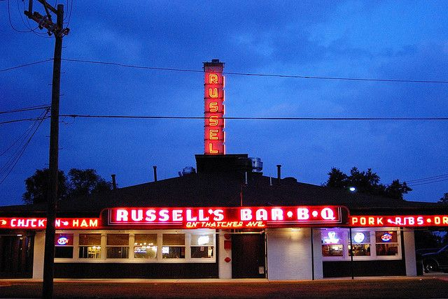Rus S Bbq Restaurant 1930 Elmwood Park Il 2009 In