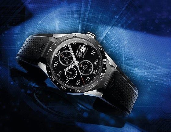 The @tagheuer Connected Watch. Read more at: http://www.watchtime.com/wristwatch-industry-news/people/watchtime-qa-jean-claude-biver-tag-heuer-connected-watch/ #tagheuer #watchtime #smartwatch #watchnerd