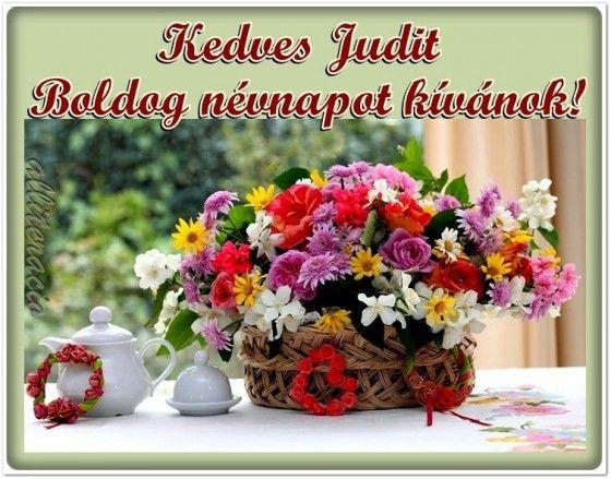 judit névnapi köszöntő névnap, Judit, szöveges, képeslap, virágok, köszöntő, | galmaria  judit névnapi köszöntő