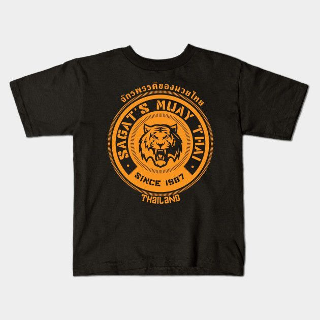 Sagat's Muay Thai Young T-Shirt