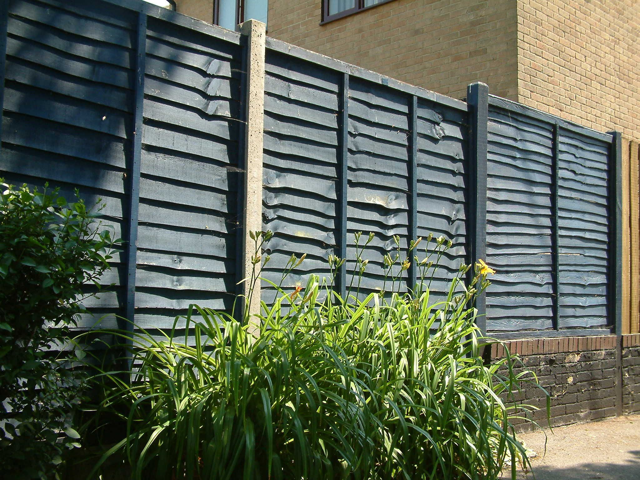 Lap fence panels look great when stained an attractive colour it lap fence panels look great when stained an attractive colour it also helps to protect baanklon Choice Image
