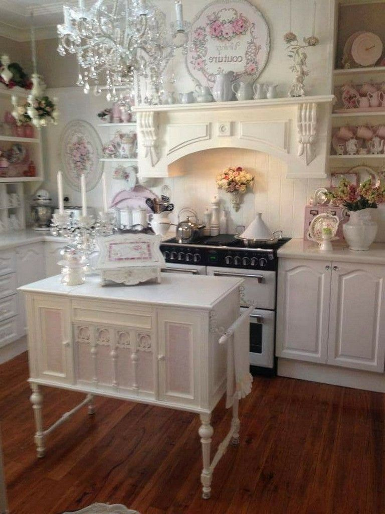 45 Wonderful French Country Kitchens Design Ideas Remodel Pict Shabby Chic Kitchen Decor Shabby Chic Kitchen Shabby Chic Bedrooms