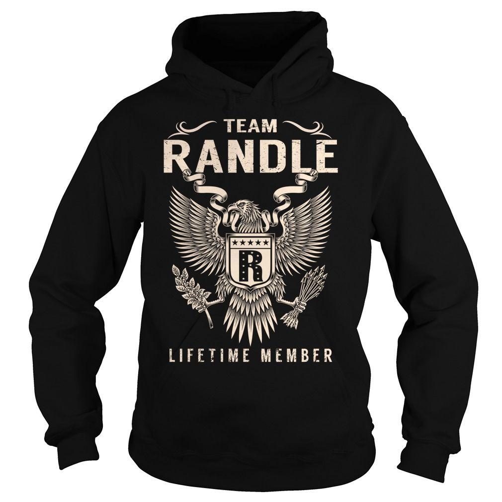 Team RANDLE Lifetime Member - Last Name, Surname T-Shirt