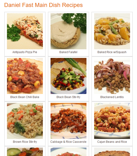 Daniel Fast recipes: basically a vegan diet for 9 days  Ultimate