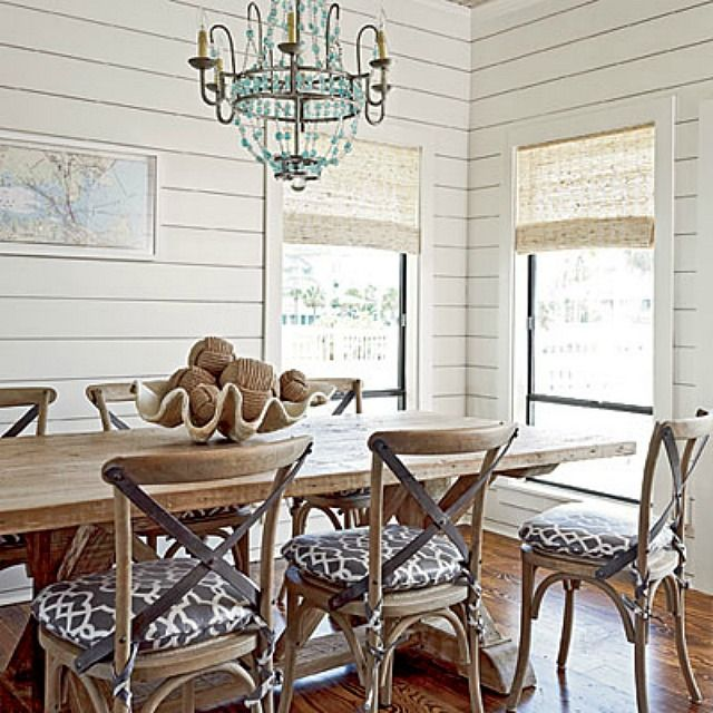 5 On Friday Five Favorite Shiplap Walls Dining Rooms Ship Lap Walls Dining Room Walls