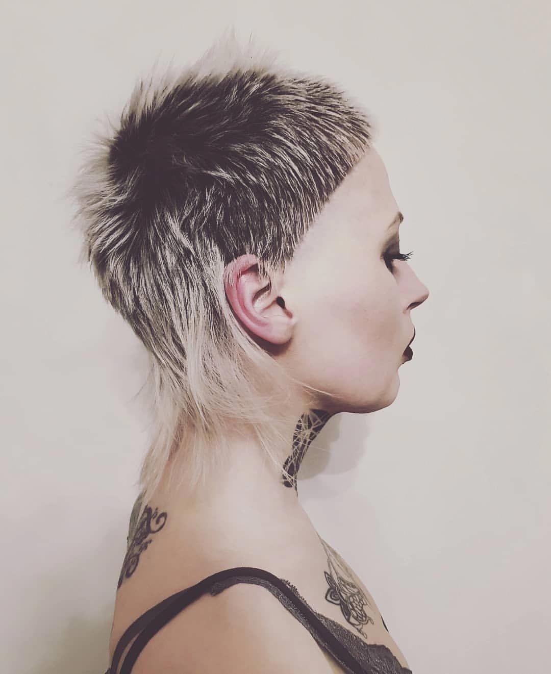 Pixiemullet Frisuren Kurzhaarfrisuren Und Rock Frisuren