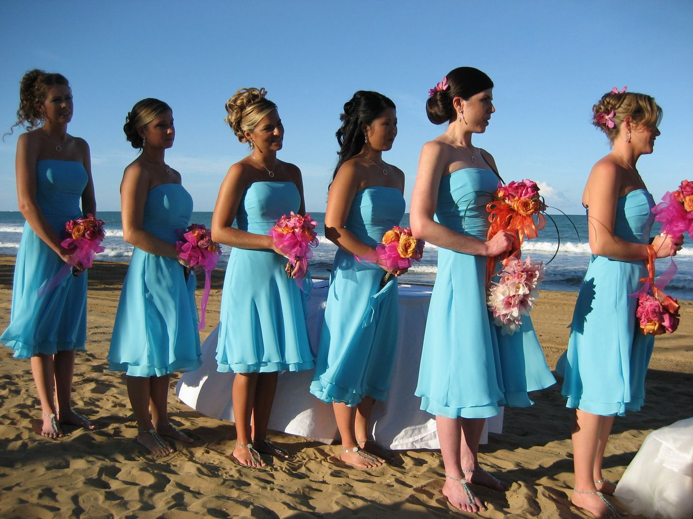 Dresses and color combos wedding ideas pinterest beach wedding