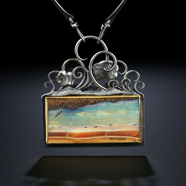 Photo of Boulder Opal Centerpiece