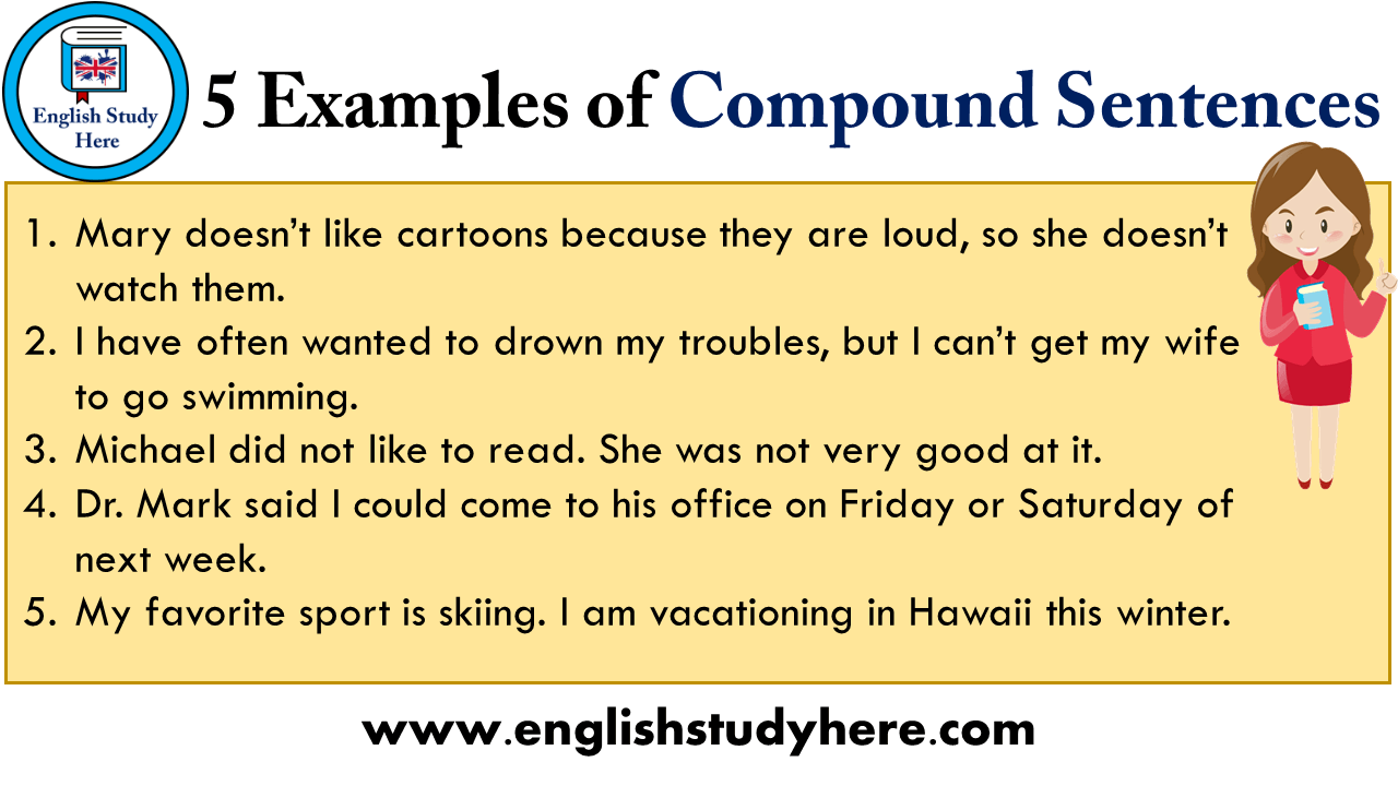 5 Example Of Compound Sentence English Study Here Direct And Indirect Speech Paraphrasing
