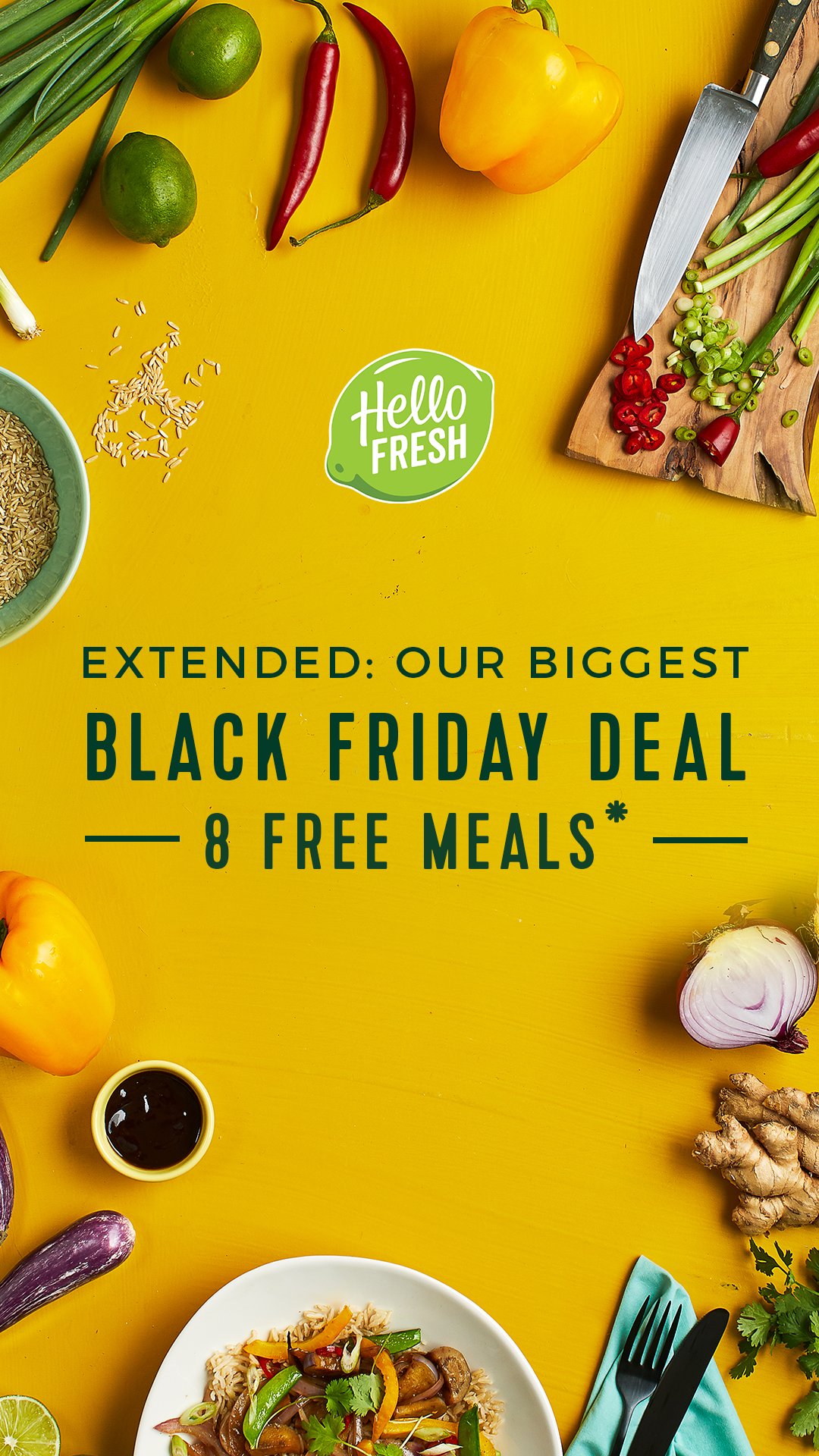 Hellofresh Black Friday Deal