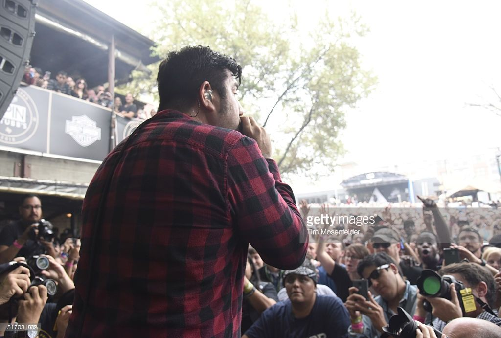 Chino Moreno of Deftones performs at the Spin at Stubb's SXSW Showcase at Stubb's Bar-B-Que on March 18, 2016 in Austin, Texas.