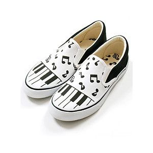 deb21770aac10f Music Note Vans Shoes