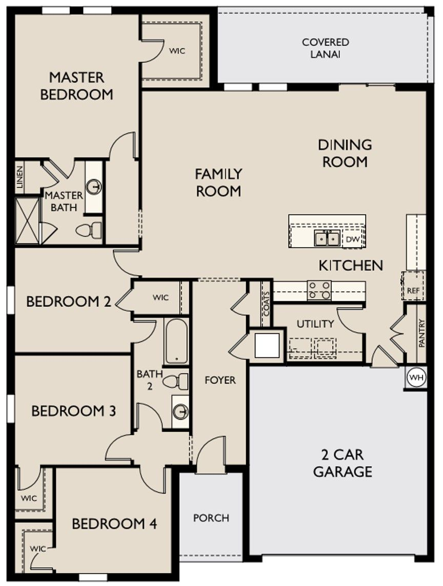 New Home Ophelia Renting A House Floor Plans Central Florida