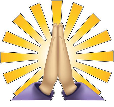 Pray And Be Grateful Double Combo Inside Jamari Fox Praying Hands Emoji Hand Emoji Praying Hands