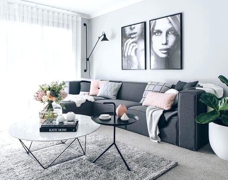Dark Grey Sofa W54419 Dark Grey Sofa Couch Couch Cloth Gray Charcoal Rectangular Shap Grey Sofa Living Room Living Room Decor Apartment Gray Living Room Design