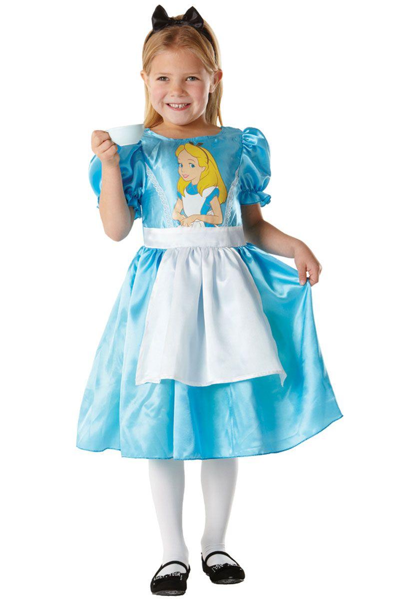 Disney Alice Classic Child Costume - Children Fantasy Costumes at ...
