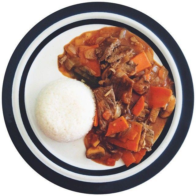 いいね!29件、コメント2件 ― maryさん(@bunnycubed)のInstagramアカウント: 「Hayashi rice🐮 #japanesefood #homecooked #homemade #cookingwithdog #food #foodstagram #foodporn…」