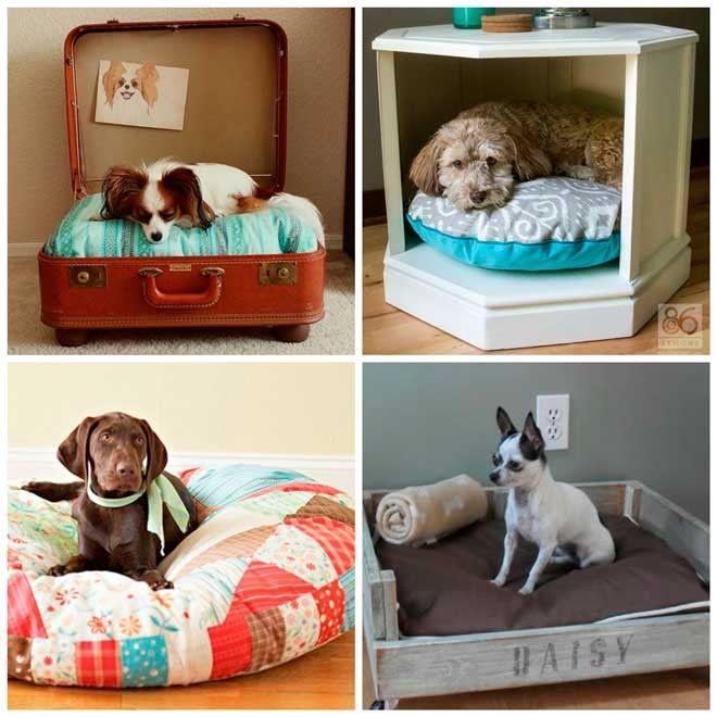Camas para perro caseras con instrucciones loving your - Como hacer camitas para perros ...
