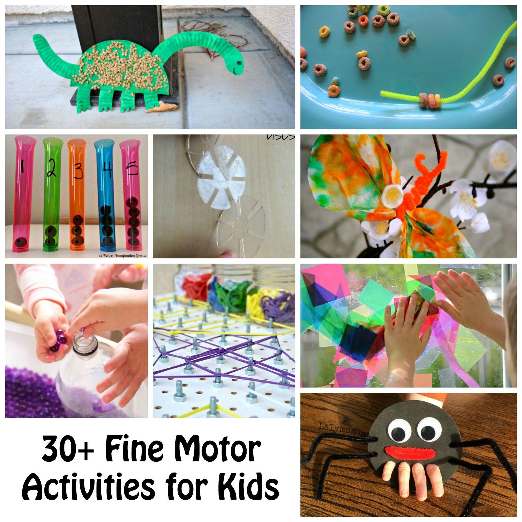 30 Kids Activities For Fine Motor Skill Development