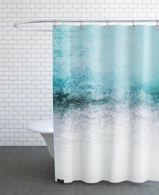 Snowdreamer Aqua Als Duschvorhang Von Monika Strigel Juniqe