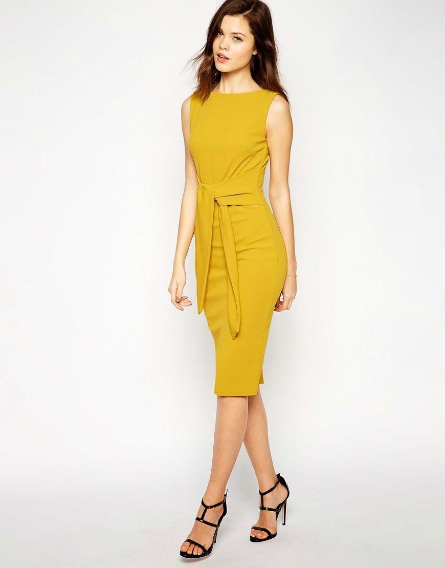 Elegantes vestidos de moda para la oficina 2015 como for Oficina de empleo mas cercana