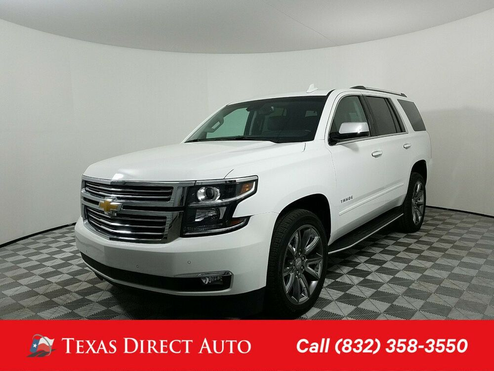 Ebay Advertisement 2018 Chevrolet Tahoe Premier Texas Direct Auto