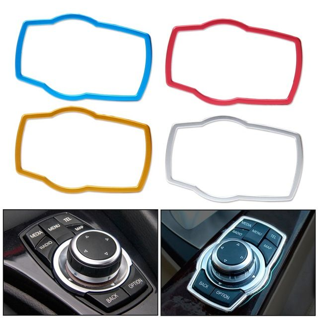 Citall Car Accessories Interior Multimedia Buttons Cover Trim For