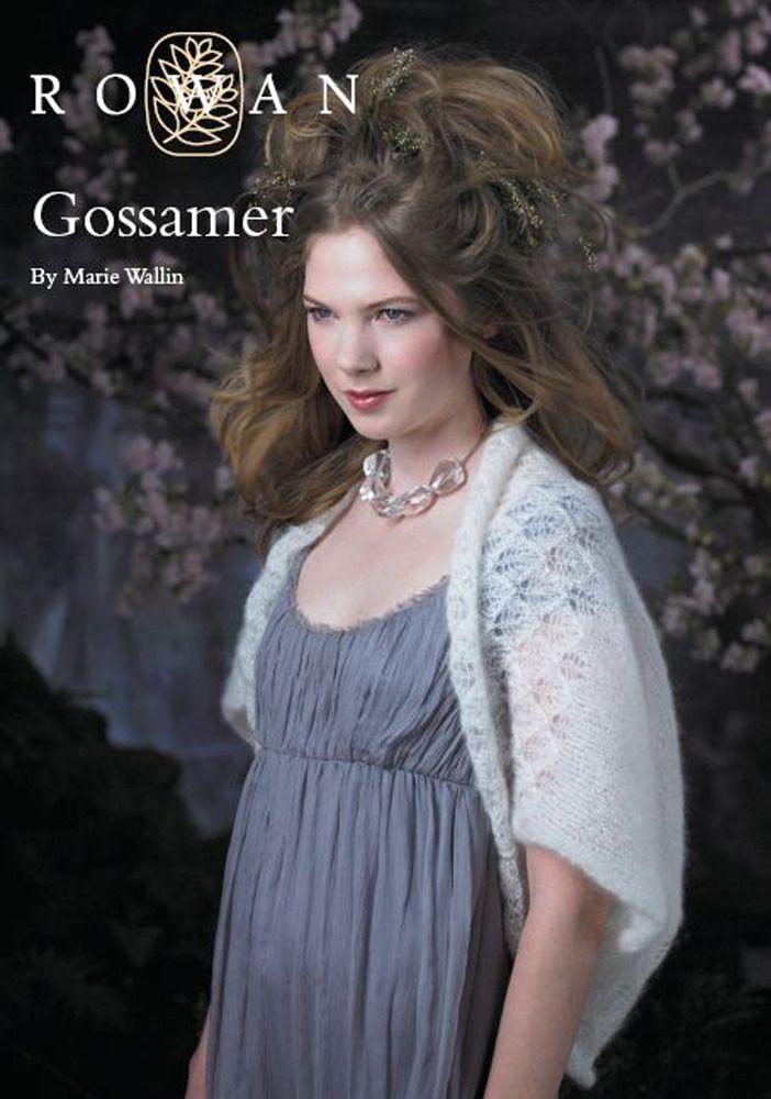 Gossamer Shrug in Rowan Kidsilk Haze | Knitting: Shawls ,Shrugs and ...