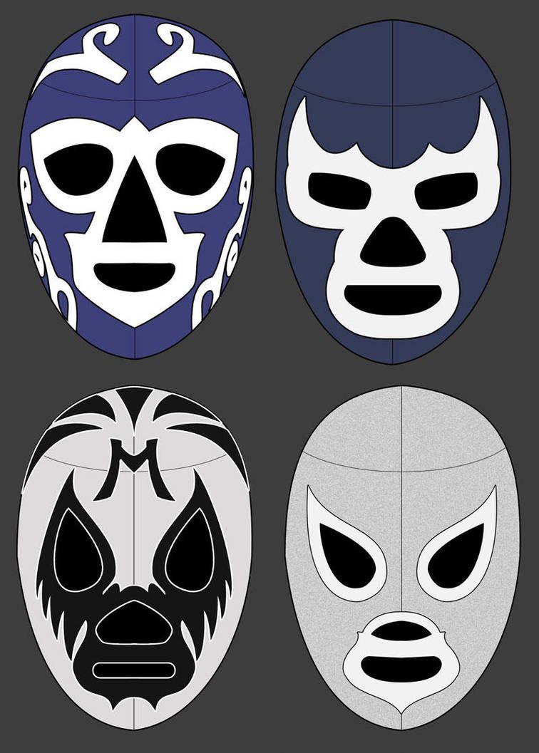 Mascaras Mascaras By Bufoncosmico Mexican Wrestler Luchador Mask Mexican Culture
