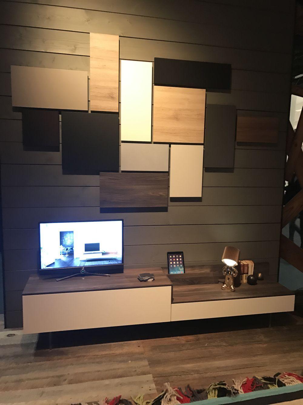 Moderne Wohnzimmer Wand Einheiten Voller Klasse Und