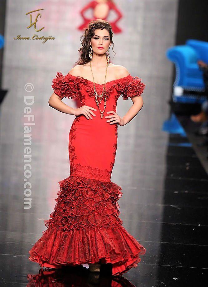 b22dfb440 Inma Castrejón Diseño y confección a medida de trajes de flamenca de ...