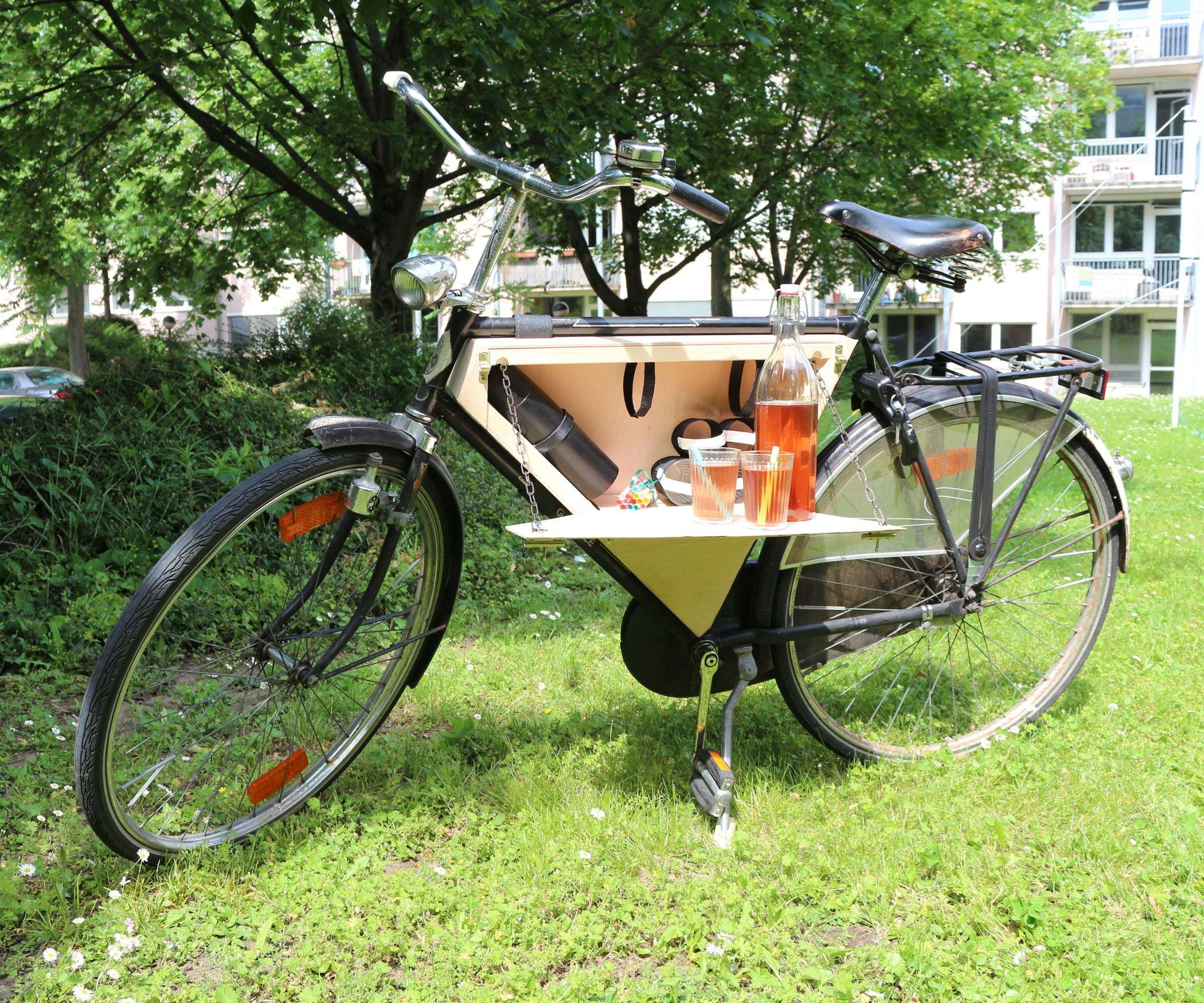 Bicycle Picnic Box Picnic Box Bicycle Bicycle Diy
