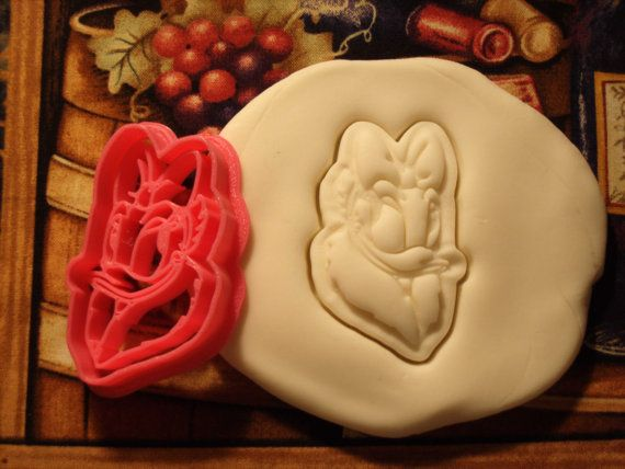 Daisy Duck Inspired Cookie Cutter Stamp Donald Duck Inspired Set Pink BPA FREE