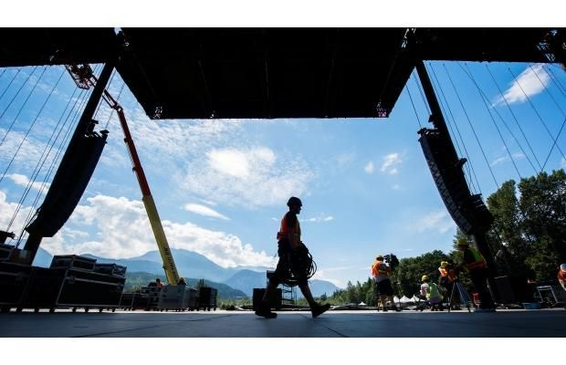 Photos: Countdown to the Squamish Valley Music Festival