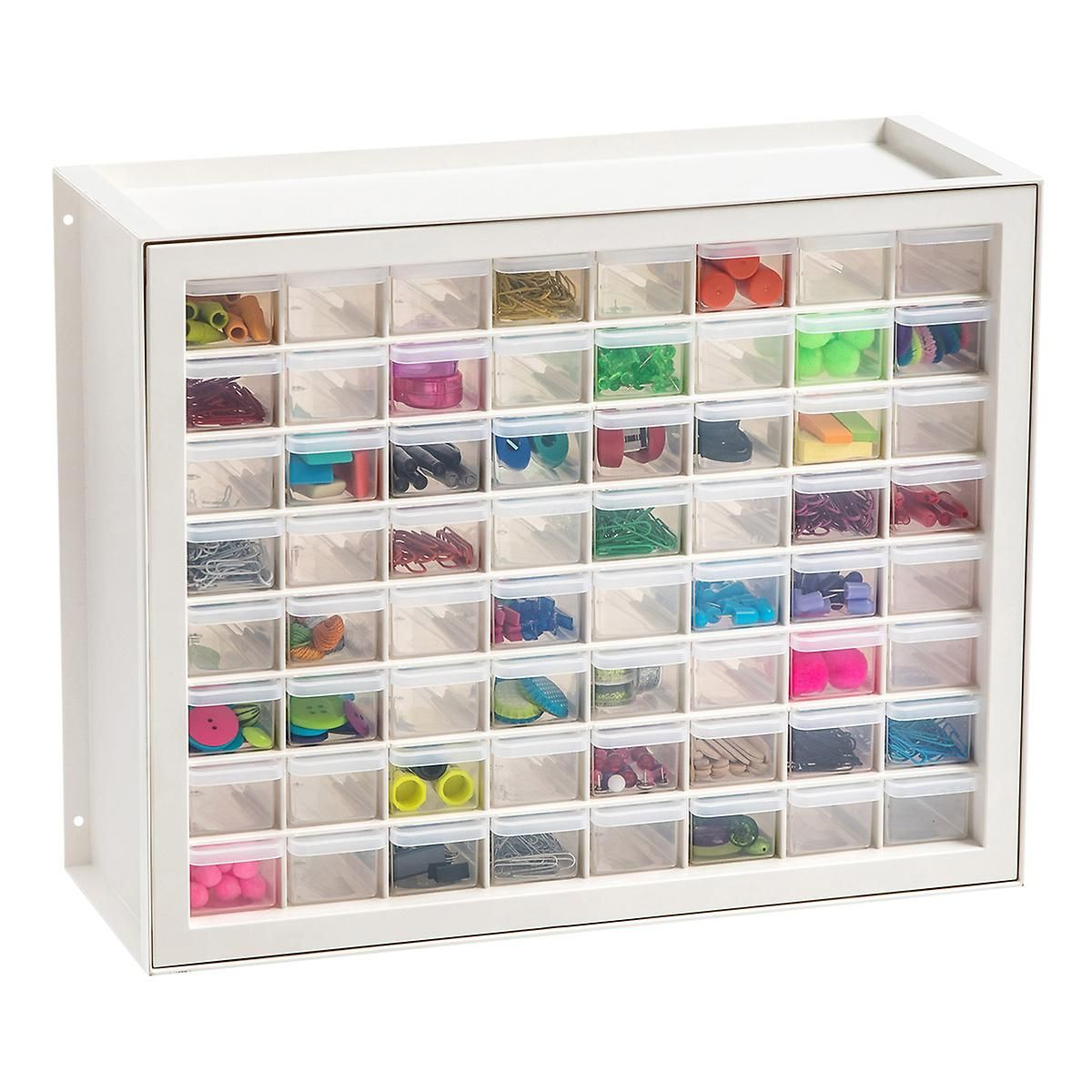 64 Drawer Craft Cabinet Craft Cabinet Office Supplies Logo Drawers