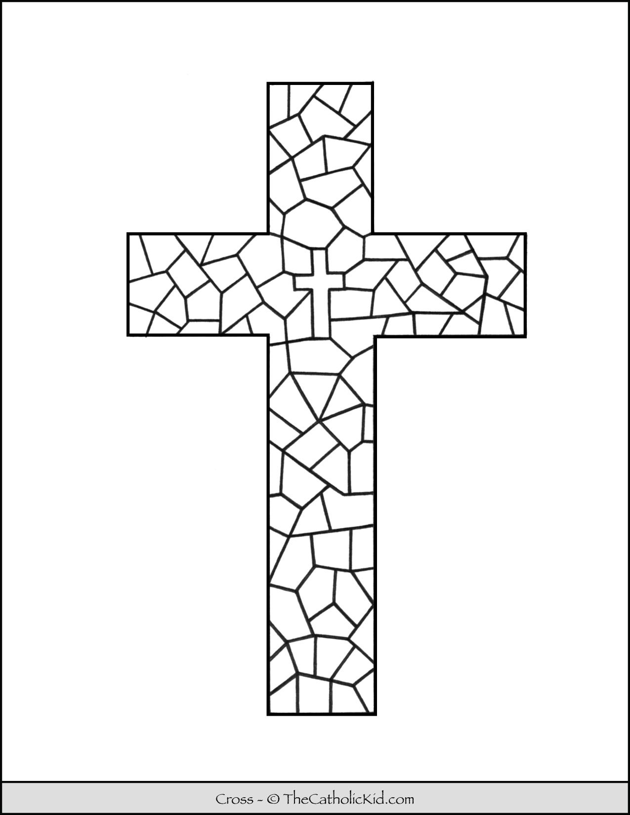 Pin by Sharon Breidenbach on Stain glass cross Stain