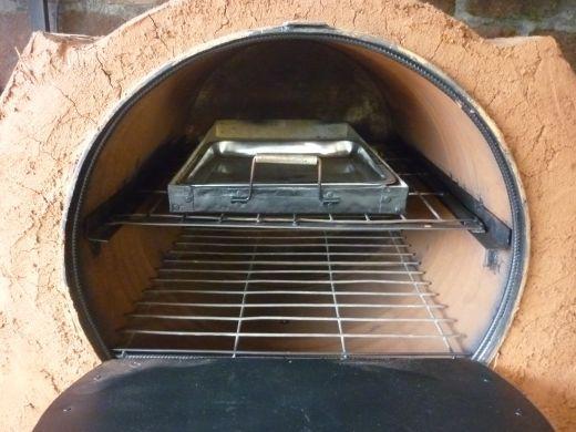 Hornos artesanos de obra hornos de le a pinterest - Como cocinar en un horno de lena ...