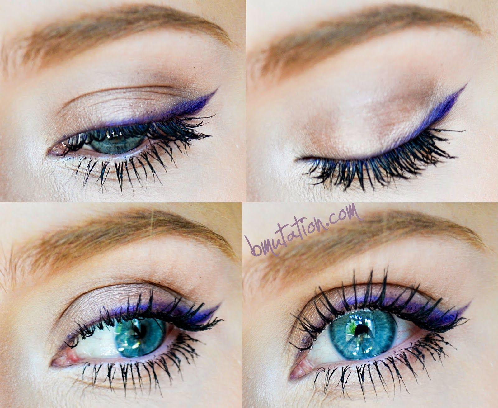 Simple and Chic (Barbie Mutation) | Dramatic eye makeup ...  Violet Eyes Mutation