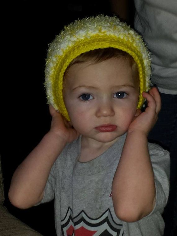 Baby Soft Hat with Trim by LEACreations on Etsy