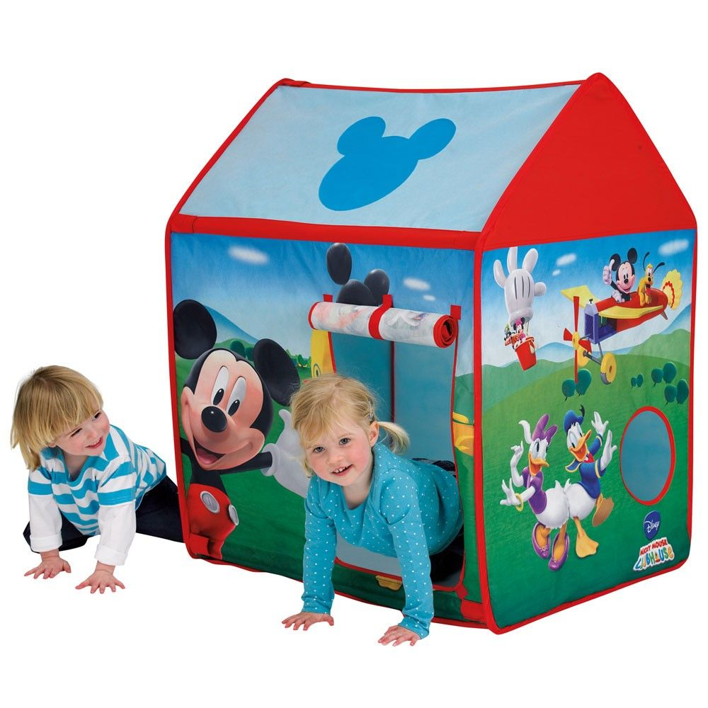 Kids Disney and Character Wendy House Pop Up Play Tent · Wendy HousePlay TentsMickey Mouse ClubhouseMickey ...  sc 1 st  Pinterest : mickey mouse clubhouse pop up tent - memphite.com
