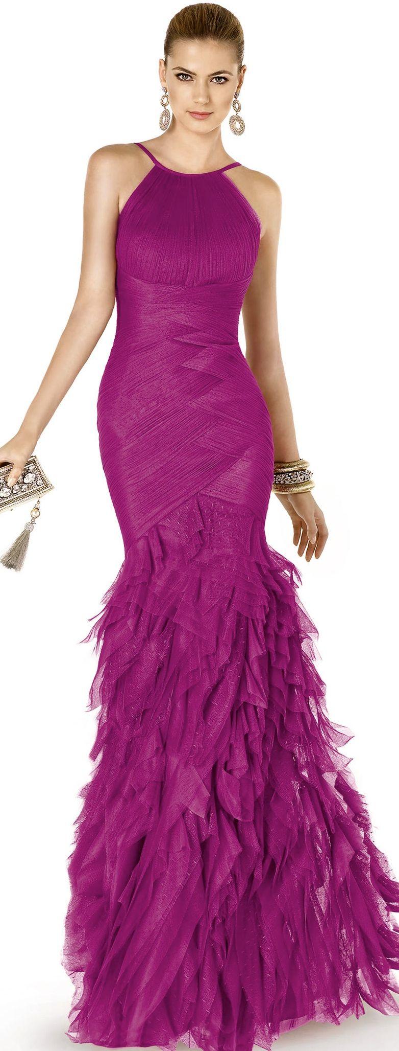 Una #invitada de #boda realmente perecta con este vestido de ...