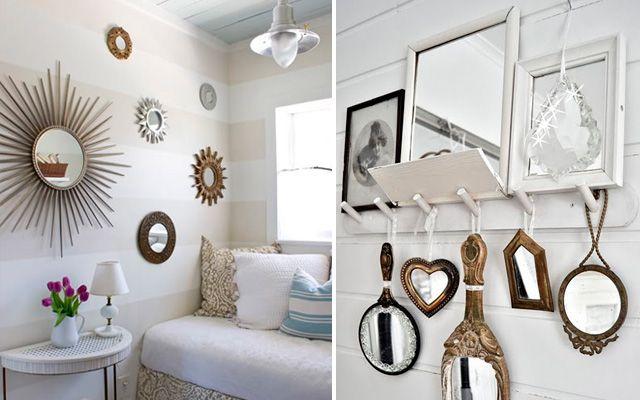 ideas para decorar con espejos en el hogar - Decoracion Espejos