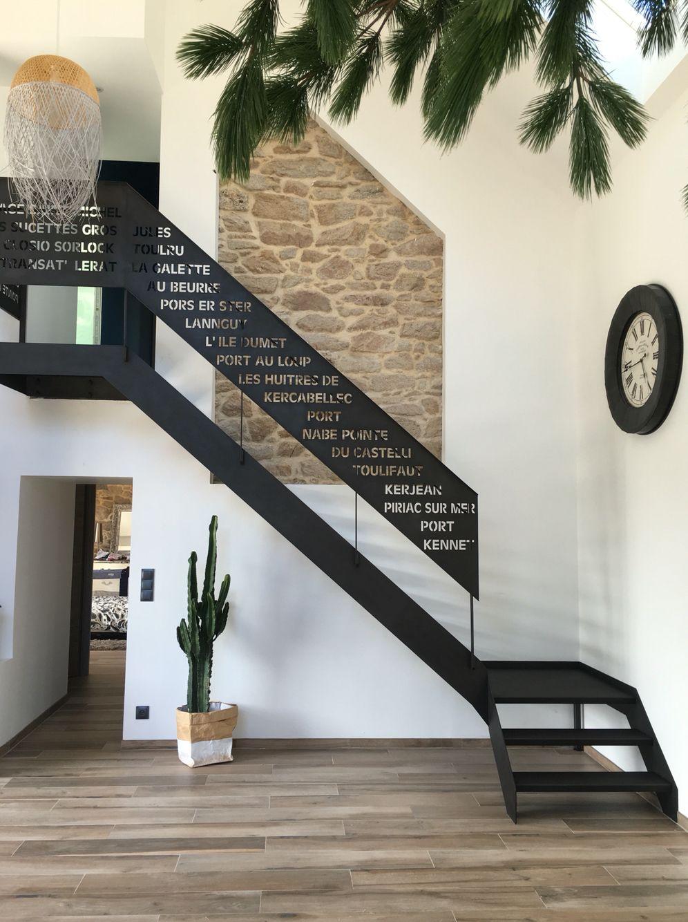 escalier m tal 1 4 tournant garde corps d coupe laser escaliers pinterest laser escaliers. Black Bedroom Furniture Sets. Home Design Ideas