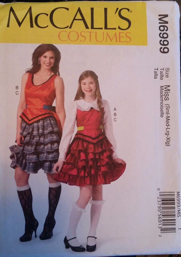 McCalls Pattern M6999 Ladies Steampunk Costumes sizes 8-22  FREE SHIPPING #Disney