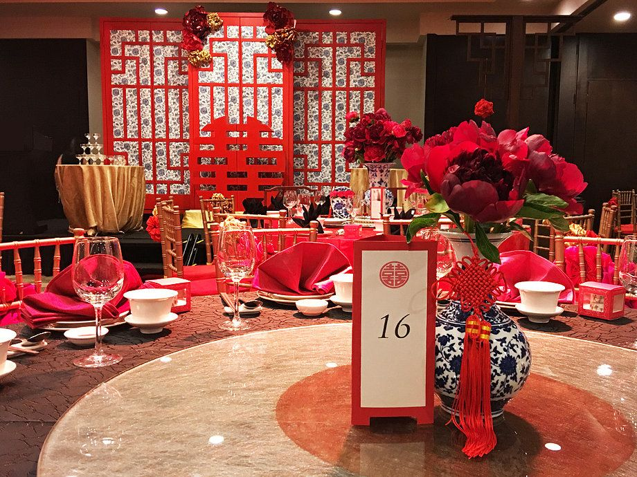 China Wedding Decorations: In Chinese Weddings, Blacks Are Usually Taboo But With Our