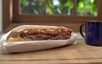 Sanduíche de coxão mole espiral por Academia da carne Friboi