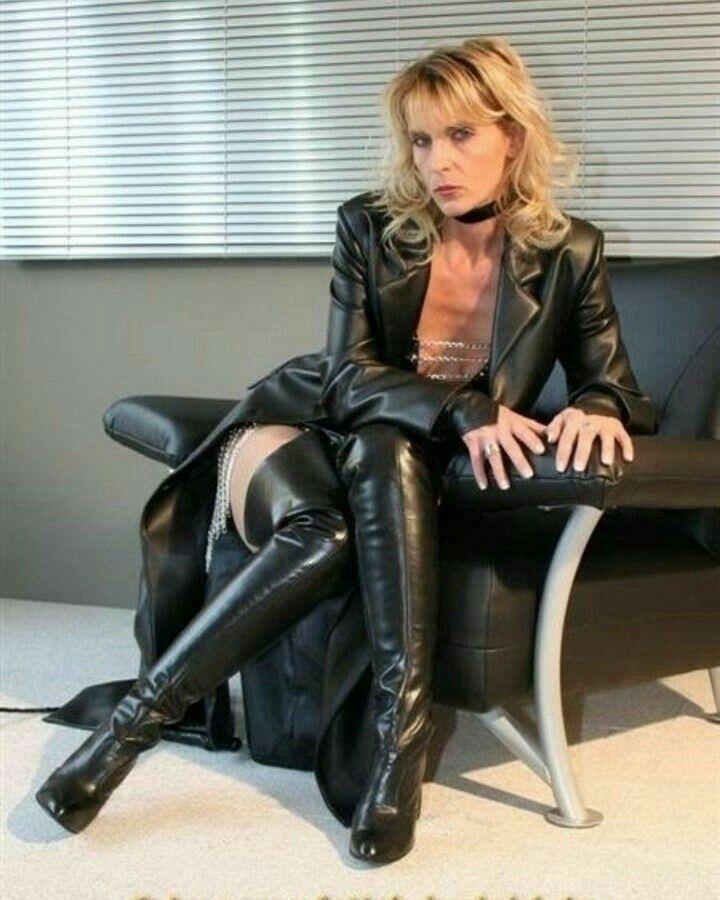 Lederlady Milf And Cougar Womens Pinterest Boots